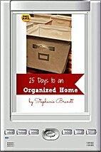 25 Days to an Organized Home Challenge:…