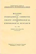 Bulletin of the International Committee on…