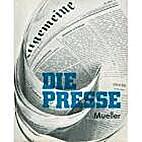 Die Presse : contemporary issues in German…
