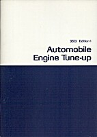 Automobile Engine Tune-up by James N.…