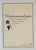 Wijnterminologie meer dan 1000 termen uit de…