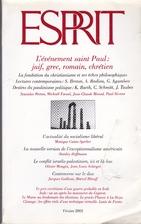 Esprit - Fév 2003 N°2 : L'événement…