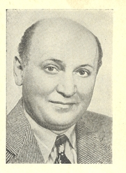 Author photo. Cut down scan of dust jacket back cover of Penguin Book No.615 (pub.1948). No attribution.
