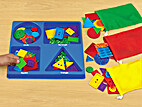 Shape Sorting Tray by Lakeshore