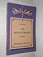 Le Misanthrope, Comedie by Molière