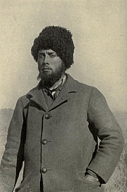 Author photo. Image from <b><i>Siberia</i></b> (1912) by Morgan Philips Price