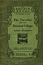 The Deserted Village and The Traveller by…