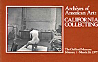 Archives of American Art: California…