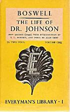 The Life of Samuel Johnson, Ll.D.; Volume 1…