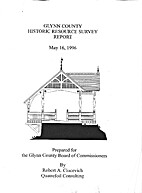 Glynn County Historic Resource Survey Report…