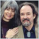 Author photo. Hank Wesselman with Jill Kuykendall ~ Photo courtesy of Hay House, Inc.