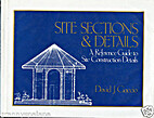Site Sections and Details: A Reference Guide…