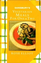 Sainsbury's Vegetarian Meals for One & Two…