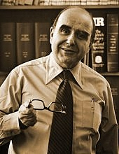 Author photo. Alfred Bader