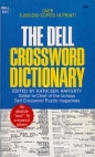 The Dell Crossword Dictionary by Kathleen…