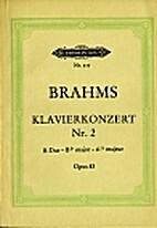 Piano Concerto No.2, Bb major, Op.83 by…