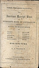 Wright's book of 3000 practical receipts, or…