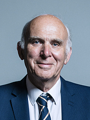 Author photo. UK Parliament official portrait of Vince Cable, 2017.