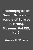 Pteridophytes of Guam (Occasional papers of…