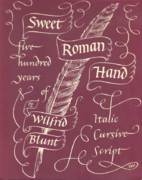 Sweet Roman hand: Five hundred years of…