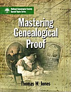 Mastering Genealogical Proof by Thomas W.…