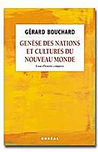 Genèse des nations et cultures du nouveau…
