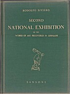 Second national exhibition of the works of…