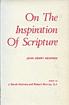 On the inspiration of Scripture by John…