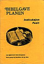 Bibelgaveplanen: instruksjonsfasit