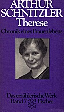 Therese by Arthur Schnitzler