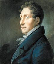 Author photo. Friedrich Kuhlau. Portrait by Christian Horneman (1828).