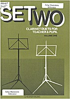 Set two clarinet duets for teacher & pupil…