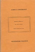 Matematisk analyse II, Den reelle analyse by…