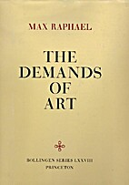 Demands of Art by Max Raphael