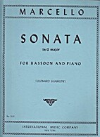 Sonata in G Major for bassoon and piano by…