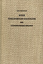 Elements of the comparative grammar of the…