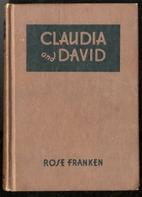 Claudia and David by Rose Franken
