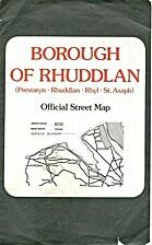 Borough of Rhuddlan street plan
