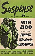 Suspense, September 1959 [Vol. 2, No. 8]