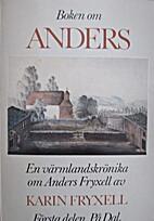 Boken om Anders, första delen by Karin…