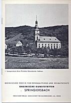 Springiersbach by Theodor Wildeman