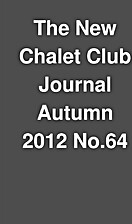 The New Chalet Club Journal Autumn 2012…