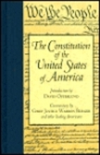 Constitution of the United States {Barnes…