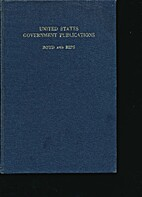 United States Government Publications by…