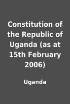 Constitution of the Republic of Uganda (as…