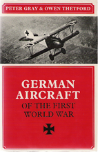 German Aircraft of the First World War by…