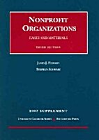 Nonprofit Organizations: Statutes,…
