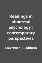 Readings in abnormal psychology :…