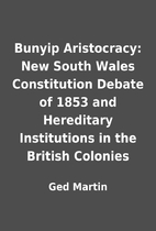 Bunyip Aristocracy: New South Wales…