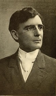 Author photo. Isaac H. Meredith. Portrait from page 404 of Biography of Gospel song and hymn writers (1914) by Jacob Henry Hall